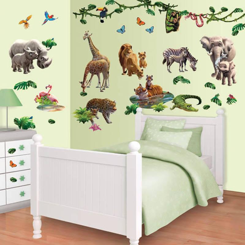 Walltastic Jungle Adventure Room Decor Kit - 41080