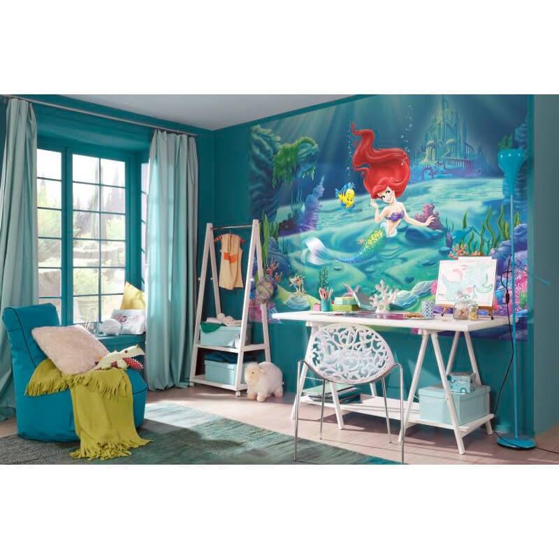 Komar disney little mermaid ariel wall mural 4 463 for Disney ariel wall mural