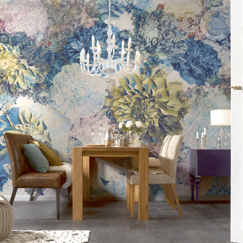 Komar Frisky Flowers Wall Mural - 8-941