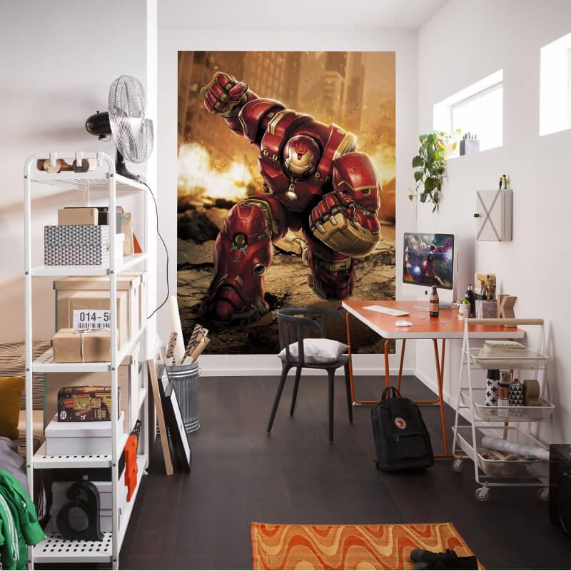 Komar Marvel Avengers Hulk Buster Wall Mural - 4-457