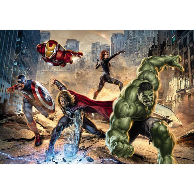 Komar Marvel Avengers Street Rage Wall Mural - 8-432