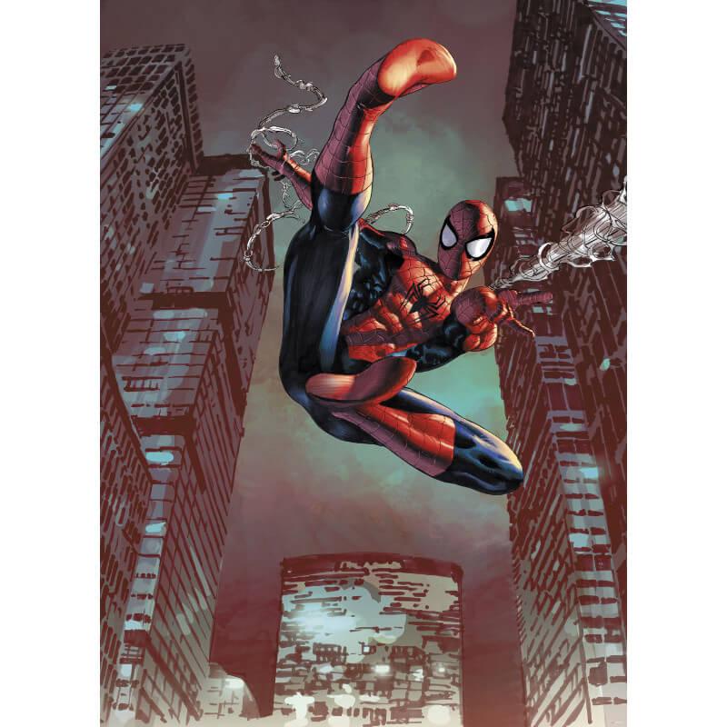 Komar Marvel Spiderman Jump Wall Mural - 4-459