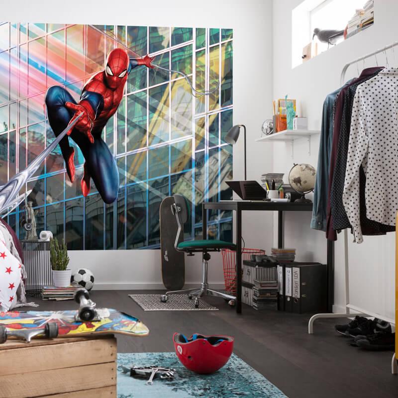 Marvel Wall Mural komar marvel spiderman rush wall mural - 4-439