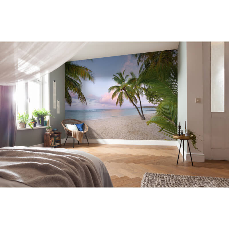 Komar Paradise Morning Scene Wall Mural - XXL4-528