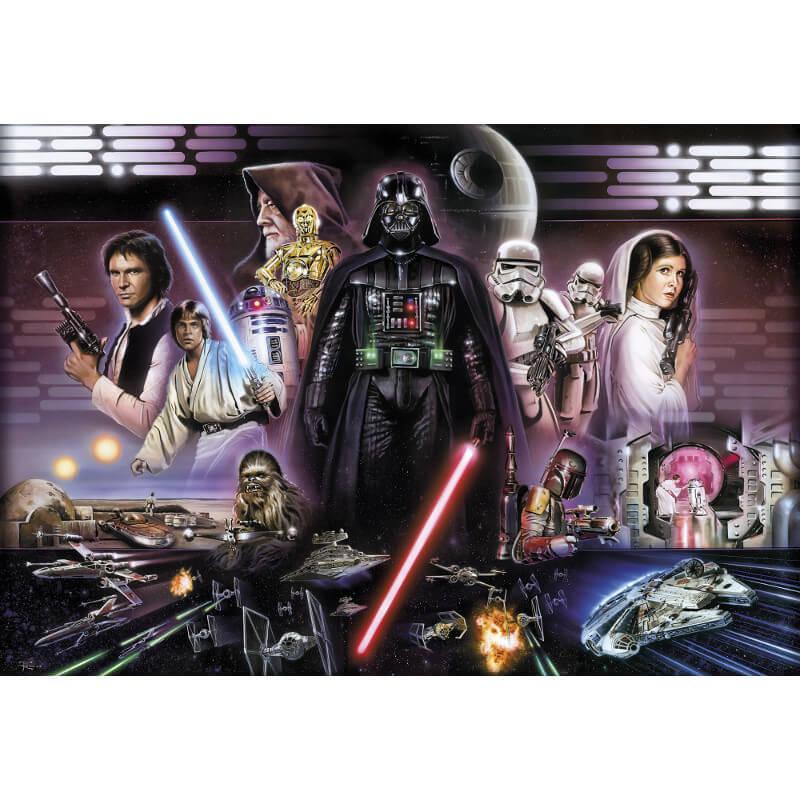 Komar Star Wars Darth Vader Collage Wall Mural - 8-482
