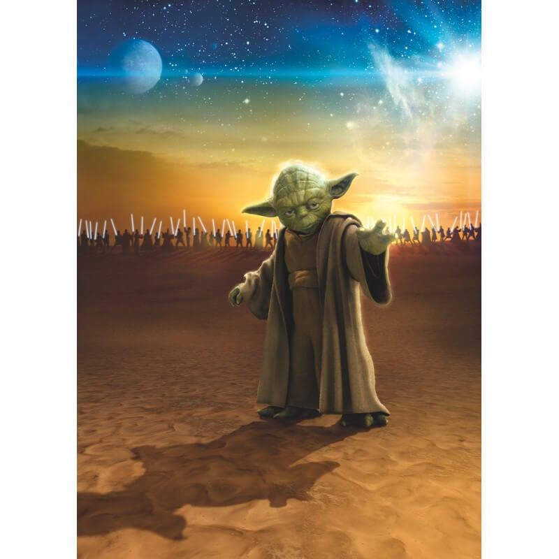 Komar Star Wars Master Yoda Wall Mural - 4-442