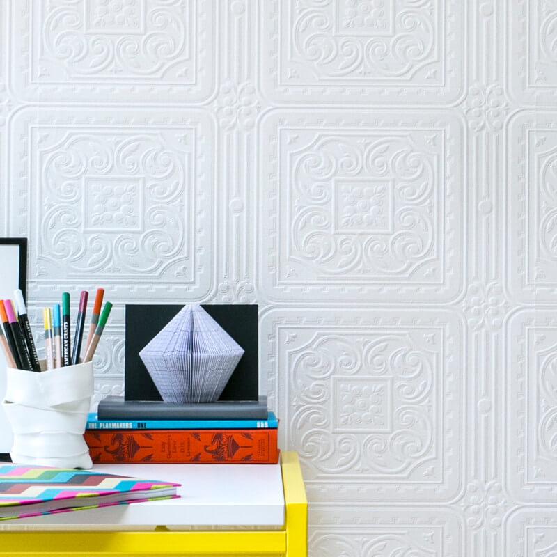 textured turner tile anaglypta wallpaper rd80000. Black Bedroom Furniture Sets. Home Design Ideas