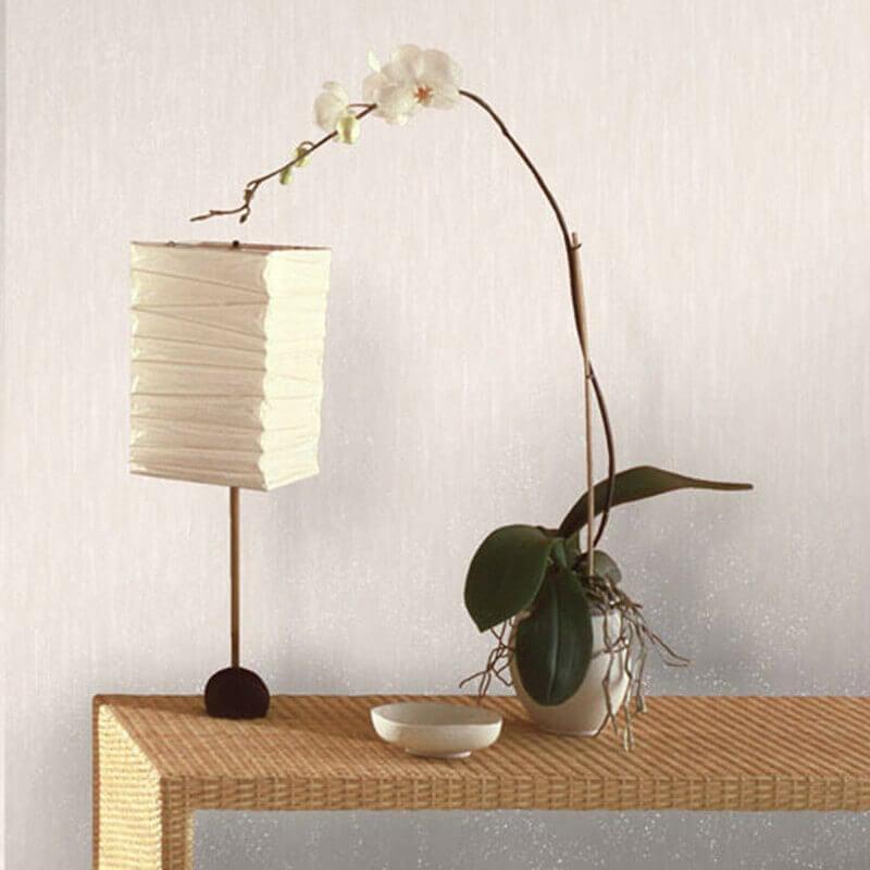 Vymura Panache Plain Cream/Silver Glitter Wallpaper  - M0737
