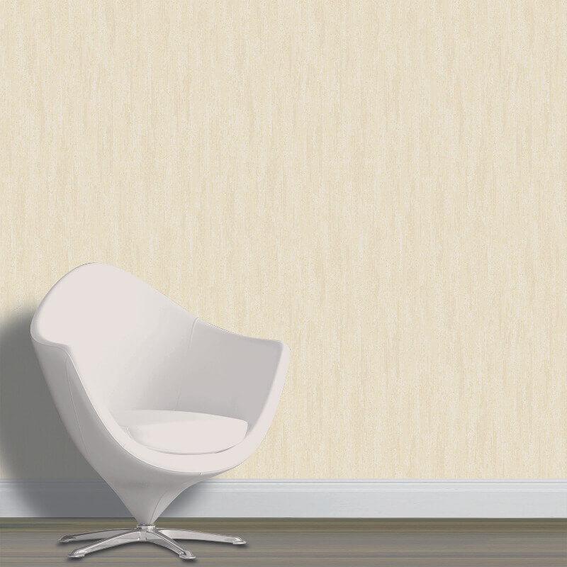 Vymura Panache Plain Soft Gold Glitter Wallpaper  - M0870