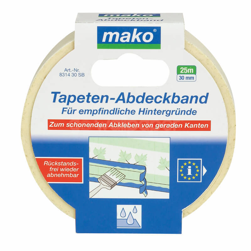 Mako Masking Tape Low Tack 30mm x 25m