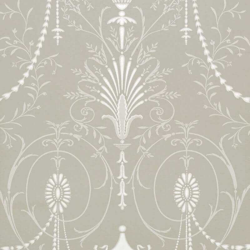 little greene london wallpaper ii marlborough in paris grey. Black Bedroom Furniture Sets. Home Design Ideas