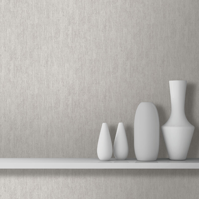 Muriva Ambra Plain Texture Brown Wallpaper - L20808