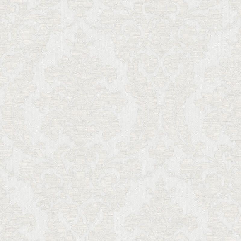 Muriva Beatrice Italian Damask Ivory Metallic Wallpaper - 22910