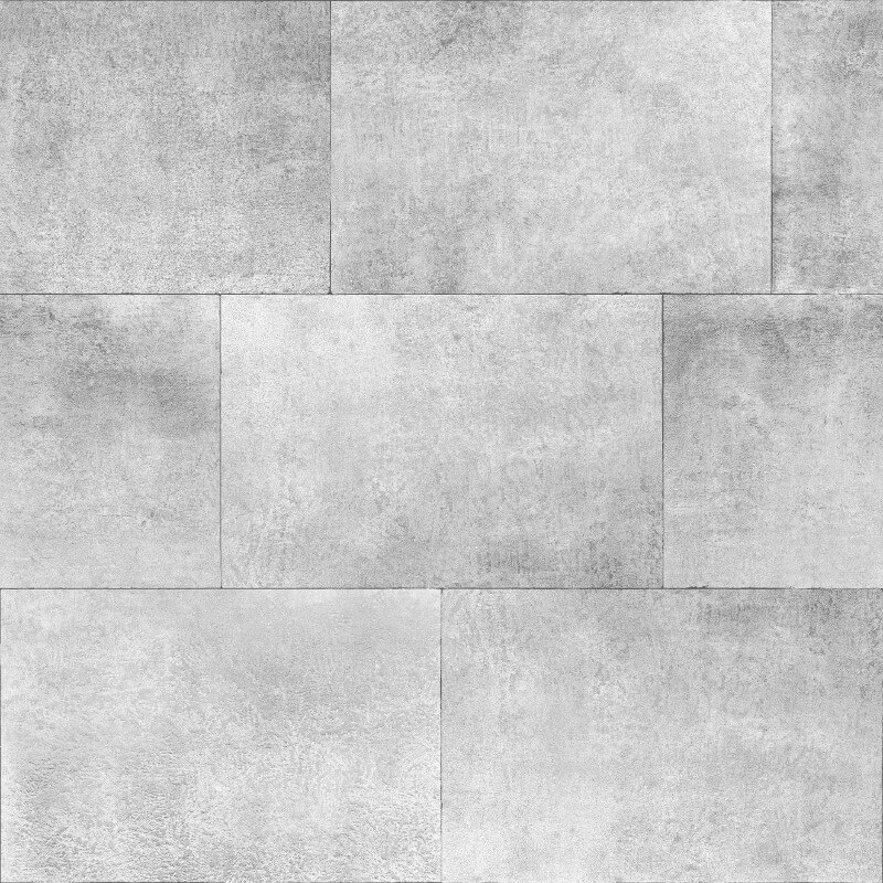 Muriva Brick Silver Metallic Wallpaper - 141202