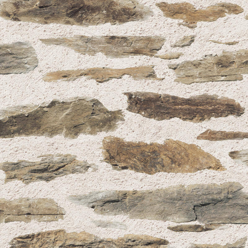 Muriva Brick Wall Wallpaper in Brown - 102559