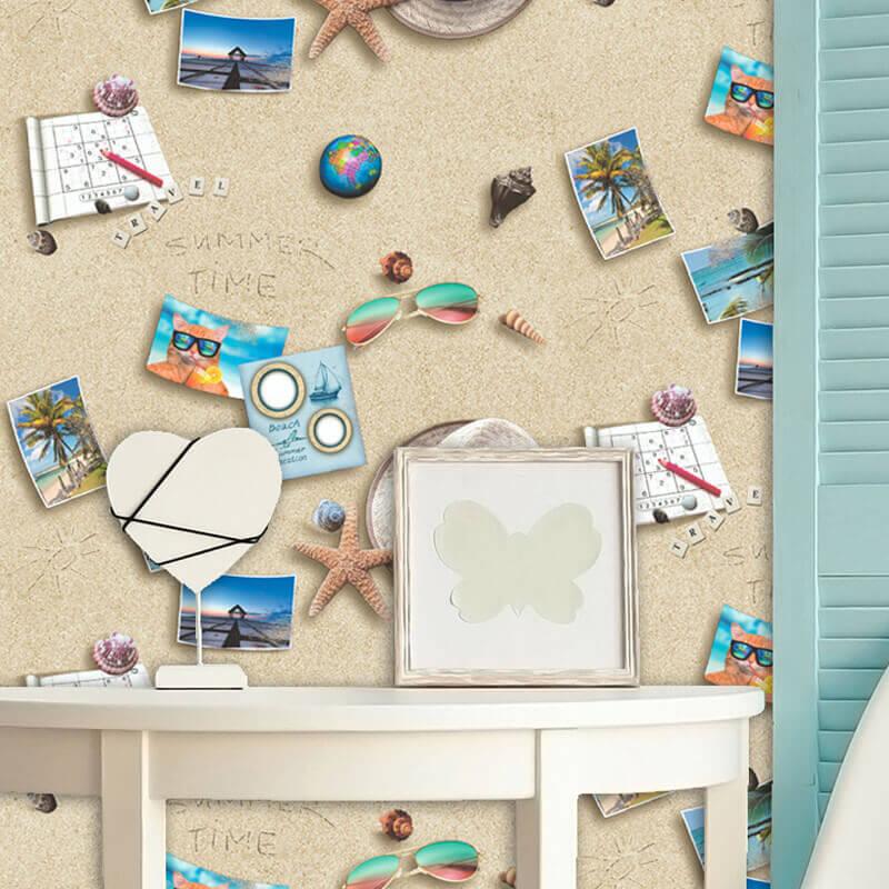 Muriva By the Seaside Multi Wallpaper - L30601
