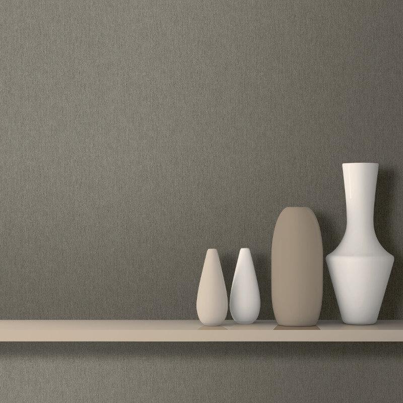 Muriva Nero Texture Brown Glitter Wallpaper - J947-28
