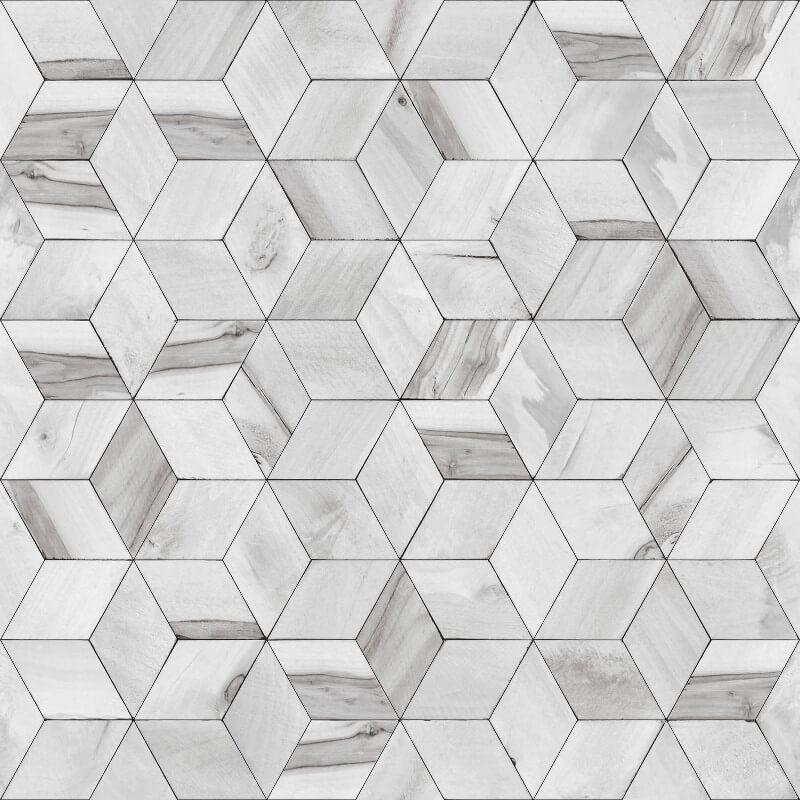 Muriva Nova Geometric Grey Wallpaper - L59209