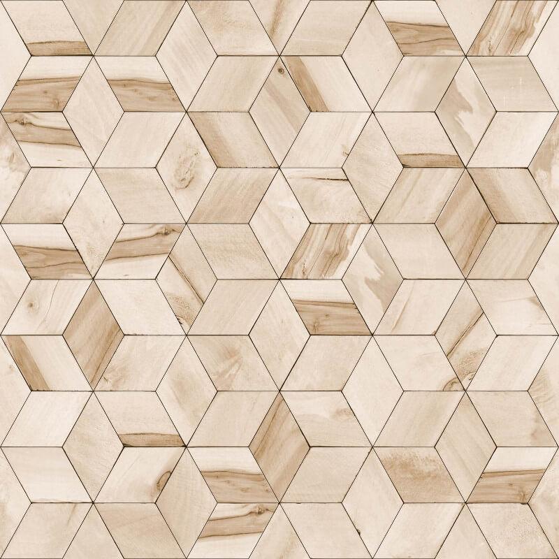 Muriva Nova Geometric Natural Wallpaper - L59207