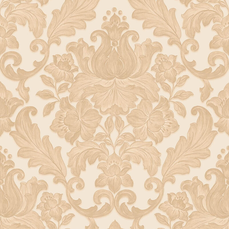 Muriva Rana Damask Beige Wallpaper - 20570