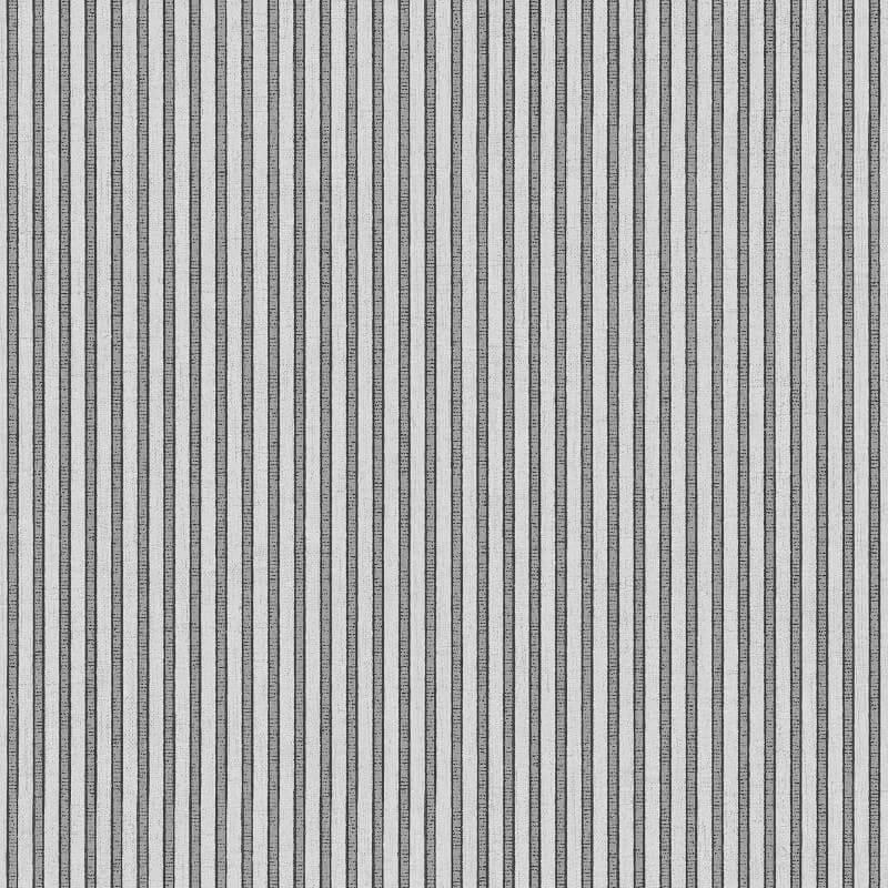 Muriva Regal Italian Small Stripe Silver Metallic Wallpaper - 22933