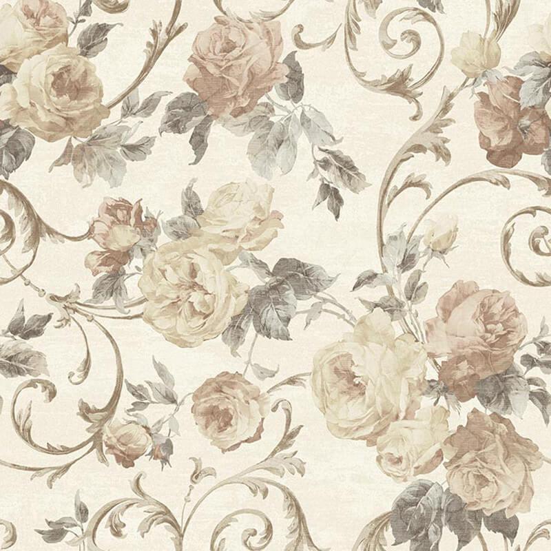 Muriva Rhea Floral Rose Wallpaper - 20553