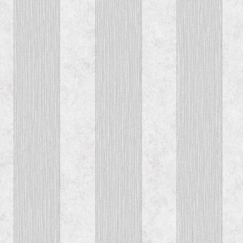 Muriva Serafina Stripe Glitter Wallpaper in Silver - 701313