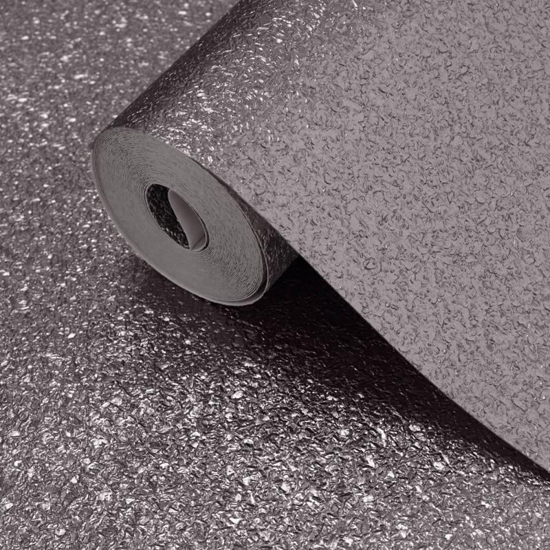 Muriva Shimmer Gun Metal Grey Metallic Glitter Wallpaper - 701365