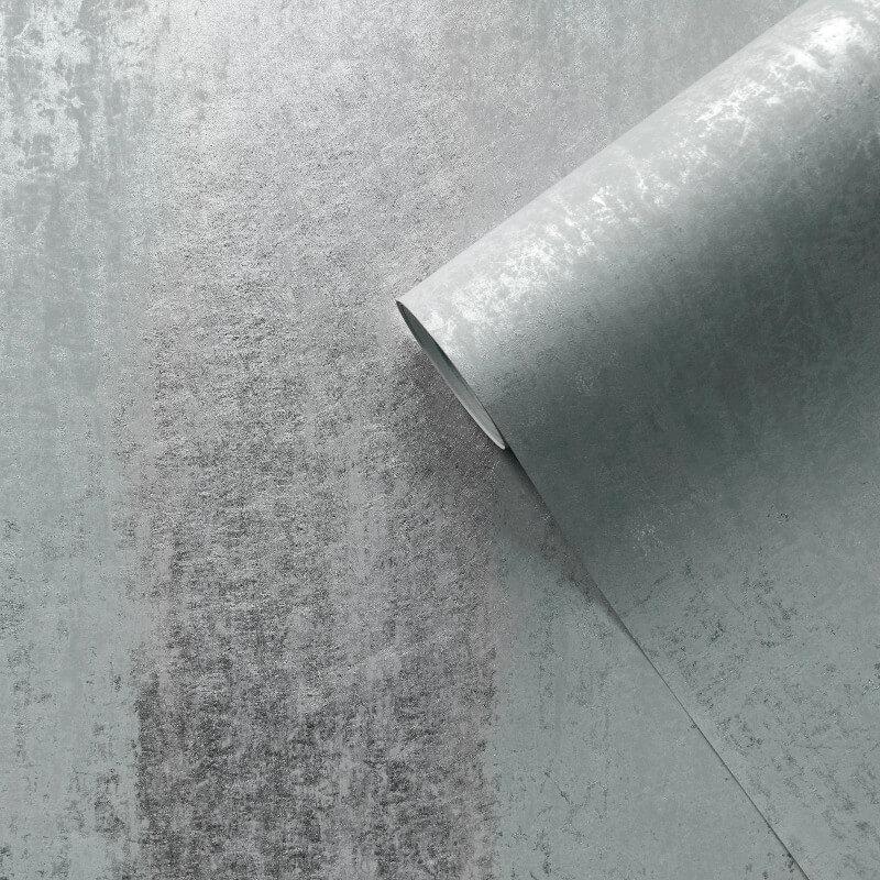 Muriva Sienna Ombre Duck Egg Foil Metallic Wallpaper - 701594