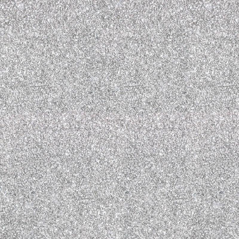 Muriva Sparkle Plain Glitter Wallpaper In Silver 701352