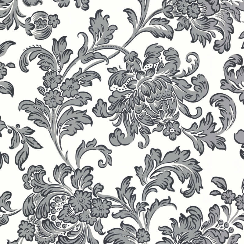 Little Greene North End Road Wallpaper in Oxford