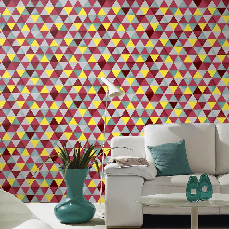 P&S International Graphics Geo Multi Wallpaper - 13267-50