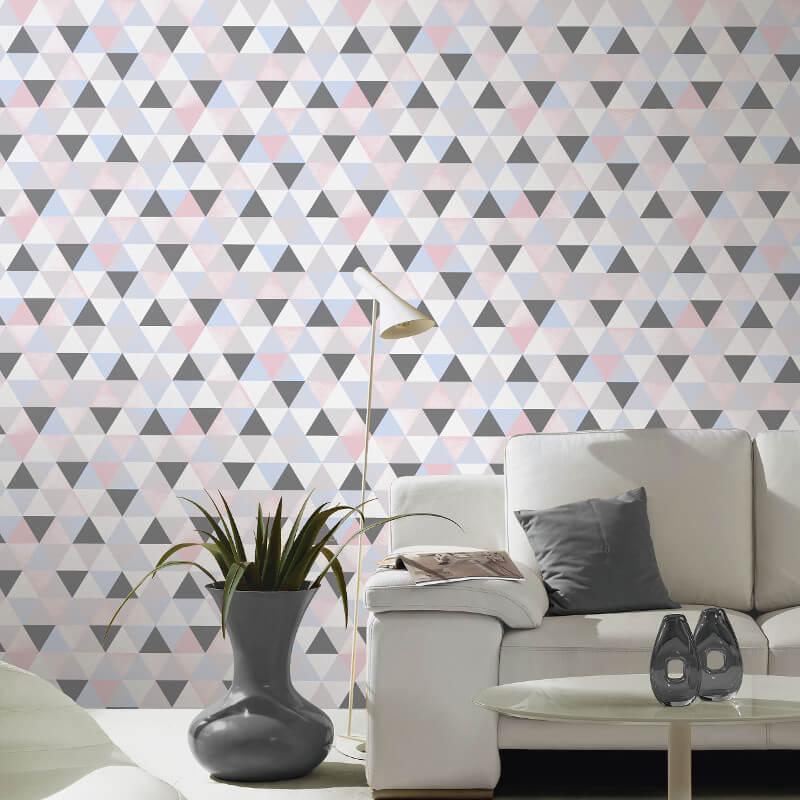 P&S International Graphics Geo Multi Pastel Wallpaper - 13267-60
