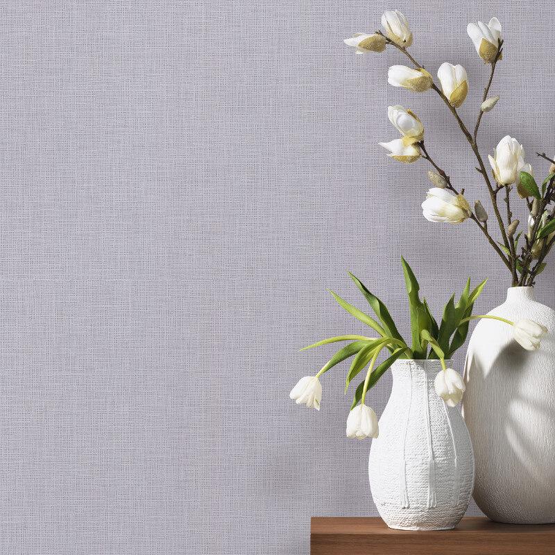 P&S International Graphics Plain Grey Wallpaper - 13532-40