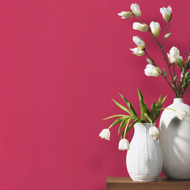 P&S International Graphics Plain Pink Wallpaper - 13532-10