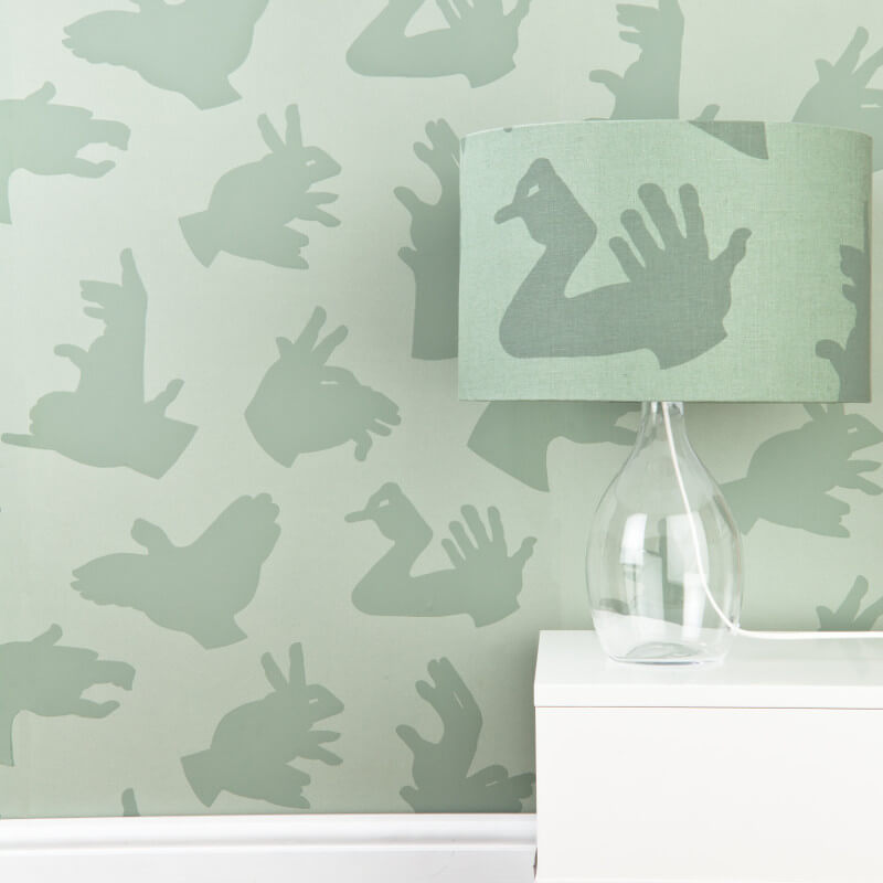 PaperBoy Hand Made Green Wallpaper