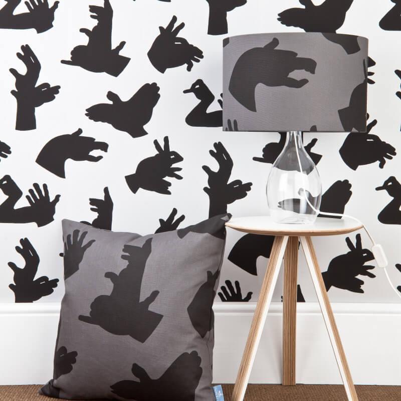 PaperBoy Hand Made Grey Wallpaper
