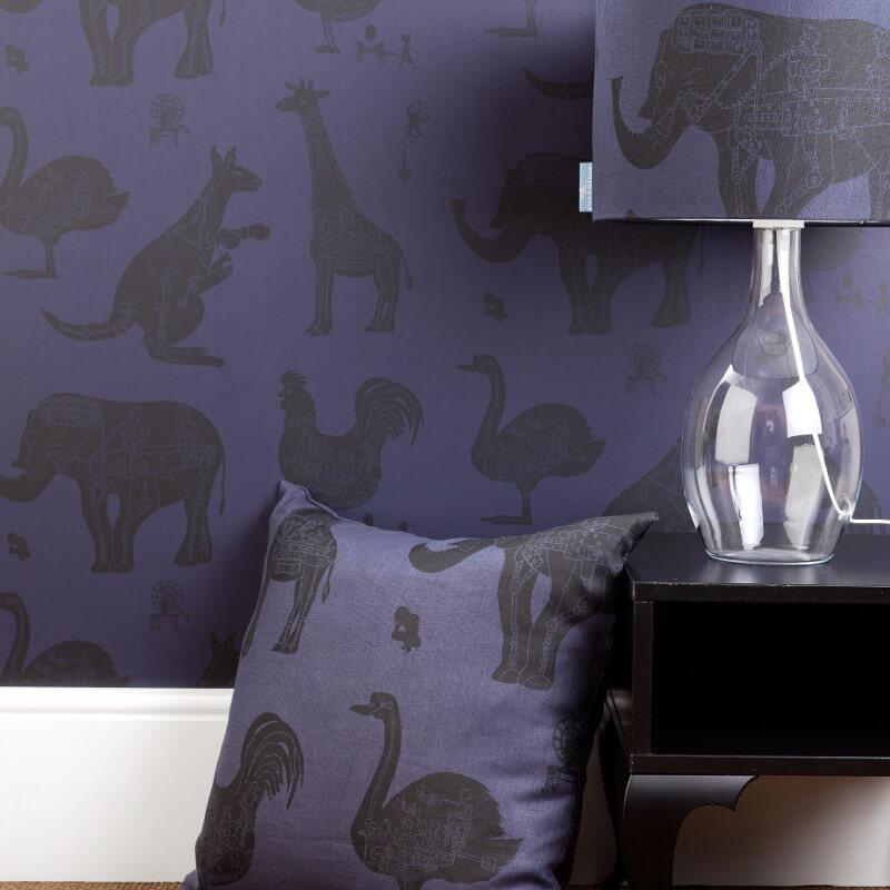 PaperBoy How it Works Purple Wallpaper