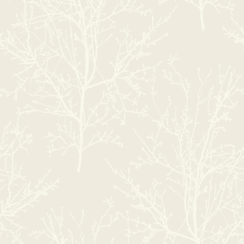 Pear Tree Bead Branches Pearl Wallpaper - UK11500