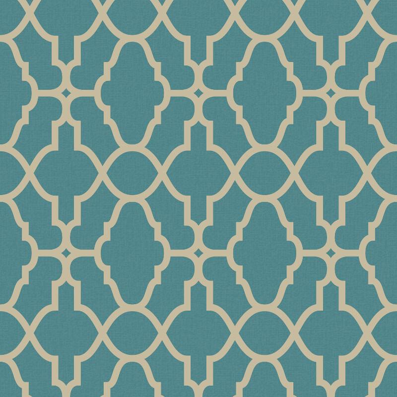 rasch casablanca trellis tealgold metallic wallpaper 309324