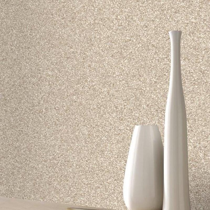 Rasch Granite Effect Beige Wallpaper - 220001