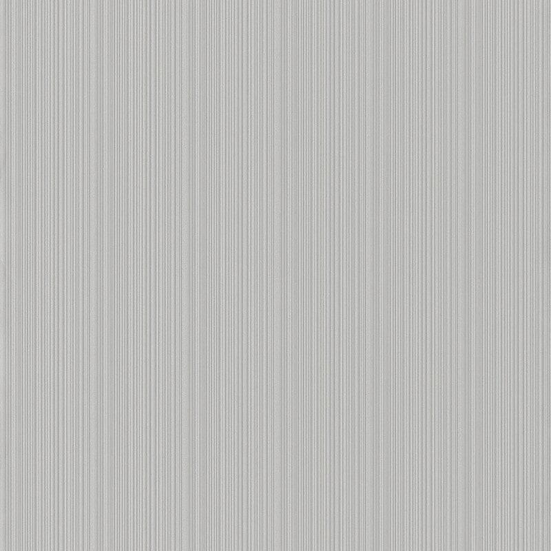 Rasch Pin Stripe Textured Light Grey Wallpaper - 431926