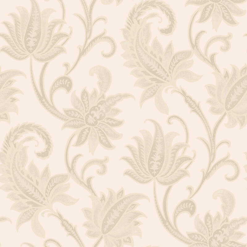 Rasch Sorrento Floral Trail Gold/Cream Metallic Wallpaper - 519310