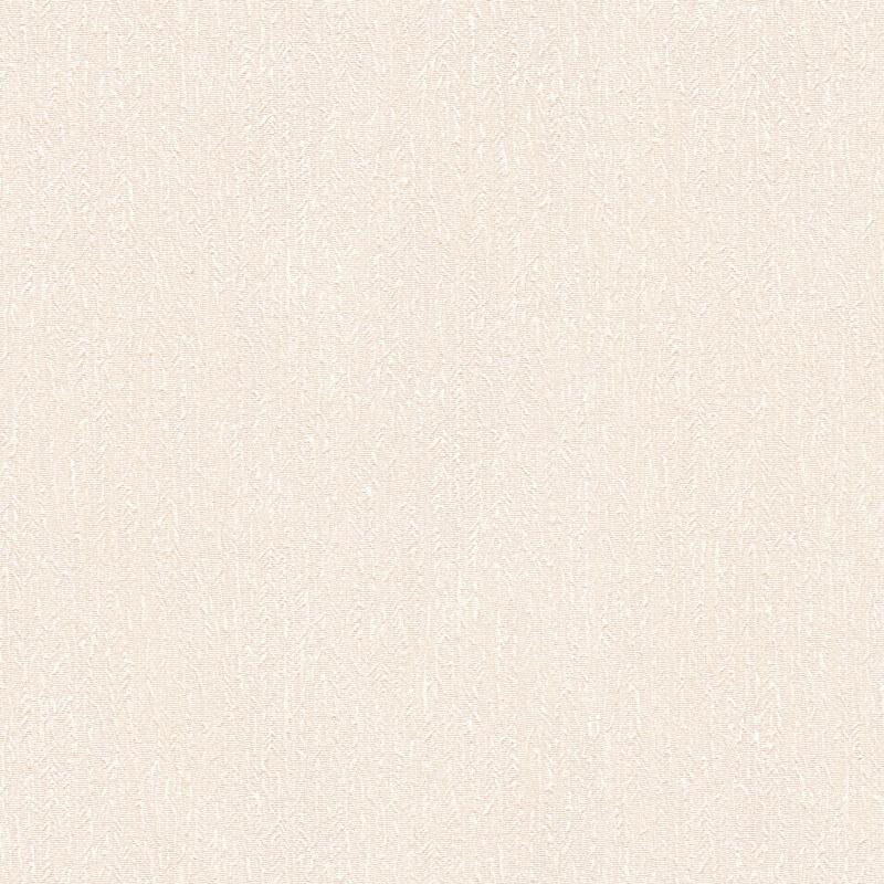 Rasch Sorrento Plain Textured Cream Metallic Wallpaper - 519501