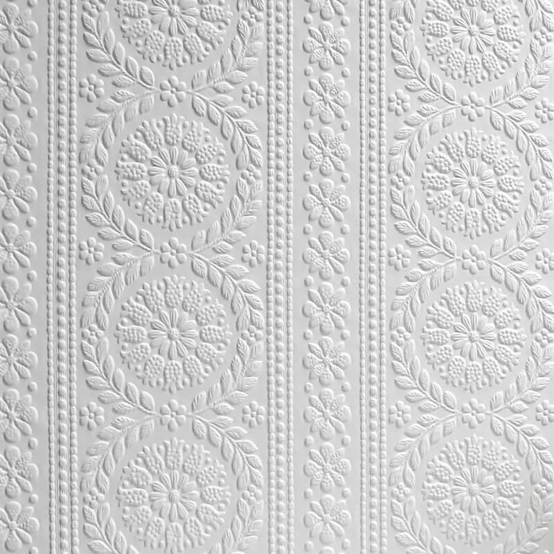 Anaglypta Original Wallpaper Townsend - RD340