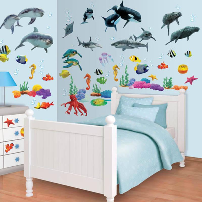 Walltastic Sea Adventure Room Decor Kit - 41097