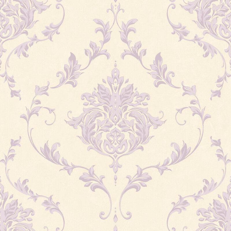 SK Filson Damask Purple Wallpaper - SK10042
