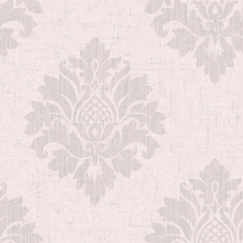 SK Filson Damask Textured Pink Wallpaper - FI2005