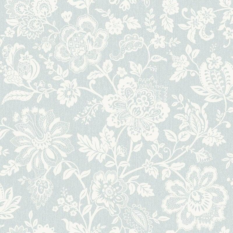 SK Filson Floral Trail Grey Wallpaper - FI2405