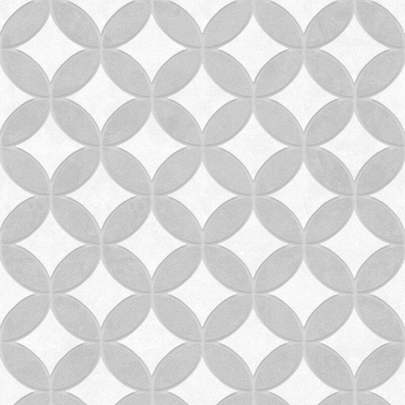 SK Filson Geometric Circles Grey Wallpaper - SK10040